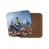 Motorcross Drinks Coaster - Motorbike Bike Biker Scramble Dad Cool Gift #8570