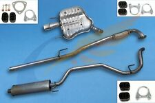 VAUXHALL VECTRA C 1.6 1.8 16V 2002-2005 Full exhaust from CAT + mounting kit