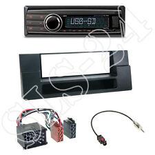 Caliber rmd212 autoradio + bmw 5er (e59) x5 (e53) 1-din diafragma Black + adaptador ISO