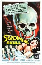The Screaming Skull Movie POSTER 27 x 40 John Hudson, Peggy Webber, A