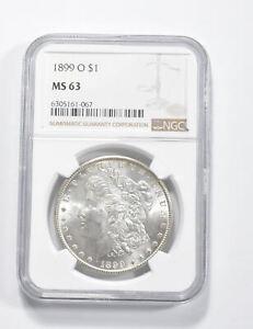 MS63 GRADED - 1899-O Morgan Silver Dollar- NGC *319