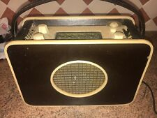 Vintage Murphy Battery/Mains Valve Radio,Portable,1950s,Not Wkg,Quite Good Cond.