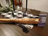 Game used bat signed Eloy Jiménez  Chicago White Sox