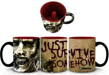 Officially Licensed The Walking Dead Zombie Inside Mug Tea Coffee Cup