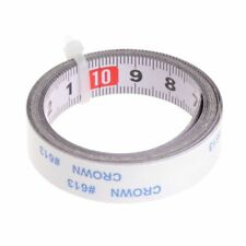 Miter Saw Tape Self Measure Adhesive Metric Steel Ruler Miter Track Stop Tape 1m