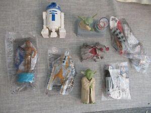 Clone Wars Star Wars Disney figure toy playset bundle Yoda C3PO At-te walker D