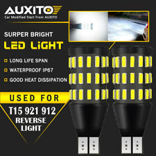 2X AUXITO Canbus 921 T15 912 LED WHITE 2000LM Backup Reverse Bulb Light For GMC