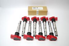AUDI RS5 4.2 QUATTRO (8T) CFSA 2010> OE SPEC IGNITION COILPACK SET x 8 COILPACKS