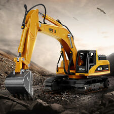 HUINA 7713-1 1/50 Scale Alloy Hydraulic Excavator Model Engineering Digging Toys