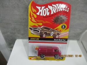 HOTWHEELS RLC COLLECTORS.COM HOLY GRAIL PINK REAR LOADER BEACH BOMB