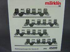 Märklin 45099 Autotransportwagen Set Goggo MHI Autotransporter Ep. III / Neu&OVP