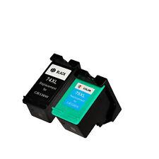 2pk Printronic For Hp 74XL 75XL Ink Cartridge