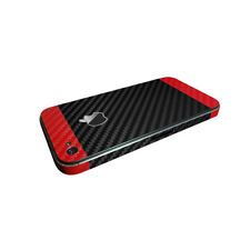 iPhone 4 4s 5 5s Custom Color Textured Carbon Fiber Vinyl Skin Protector Wrap