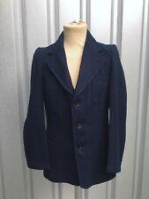 30s Jacket WW2 French 40s Wool Jacket Vtg Marine Nationale Veste Ancien Air MINT