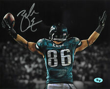Zach Ertz Autographed Signed 8x10 Photo Philadelphia Eagles (JSA PSA Pass)