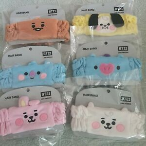 [BTS] Baby Washing hair band Official Goods Line friends BT21