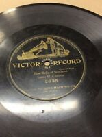 "1904 Victor Record 10"" 78rpm Bluebells Scotland #2635 FREE SHIPPING B50S21"