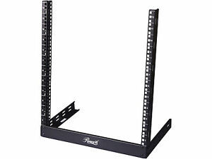 Rosewill 12U 19 Inch Desktop Open Frame 2 Post Server Desk Rack (RSR-2P12U001)