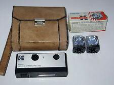 Kodak Pocket Instamatic 100 mit Tasche und 2 Blitzwürfeln Vintage