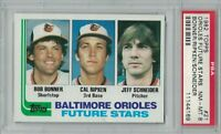 CAL RIPKEN 1982 Topps Baseball ROOKIE Baltimore ORIOLES Future Stars Card #21