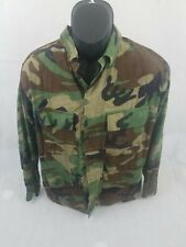 Propper Men's Military Camouflage Long Sleeve Button Front Shirt Size Medium