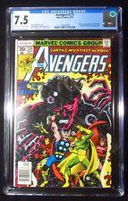 Avengers #175 (1978) CGC 7.5...Korvak, Capt. Marvel, GOTG & Ms. Marvel app.