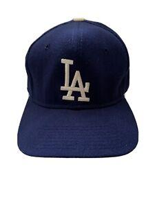 VTG Los Angeles Dodgers Sports Specialties 7 1/2 Hat Cap 90s 80s Wool retro Pro