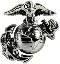 Pewter USMC Globe & Anchor Insignia Pin