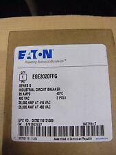 EGE3020FFG NEW IN BOX - Cutler Hammer Eaton Circuit Breaker - Free Priority Mail