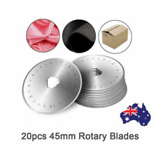 45mm 20PCS Rotary Replacement Blade Leather Fabric Cut Quilter Sewing Cutter