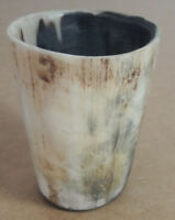 Vintage Dice Roller / Dice Cup made from Horn 8.2cm tall