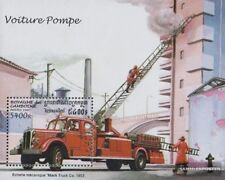 Cambodia block226 (complete issue) unmounted mint / never hinged 1997 Fire truck