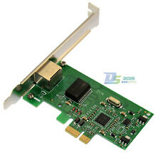 Gigabit 1000Mbps Ethernet Network Internal Card PCI-E Express Low Profile for PC