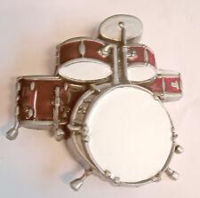 Buckle Gürtelschnalle Schlagzeug Drums Percussion Drum-Kit