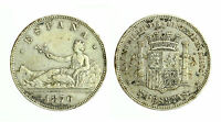 pcc1806_1) SPAGNA SPAIN  5 PESETAS 1870