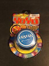 Light Up See Through Yo-Yos with Clutch Bearings Blue