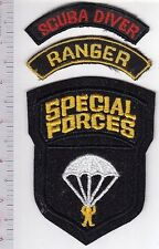 Philippines Army Special Forces SF Ranger Tab & SCUBA Qualified Tab