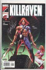 Marvel Knights Comics Killraven #1 DF Signed LINSNER Ltd 1500 with COA