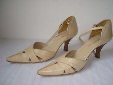 San Marina Femme Sandales Chaussures Beige UK 3.5-4 EU 36.5-37