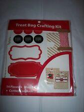 Treat Bag Crafting Kit 14 Pieces Makes 8 Gift Boxes Baking Candy Making Holidays