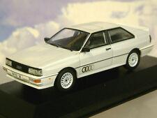 VANGUARDS 1/43 1987 AUDI QUATTRO PERLMUTTWEISS-METALLIC LHD LEFT HAND DRIVE