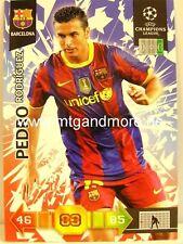 Adrenalyn XL Champions League 10/11 - Pedro Rodriguez