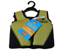 KIDS TODDLER 3-6 YEARS SWIM SAFE VEST LIFE JACKET WITH BUOYANCY FLOATS SWIMMING