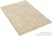 "Silken 32 oz 3/4"" Thick Soft Indoor Frieze Shag Carpet Area Rug"