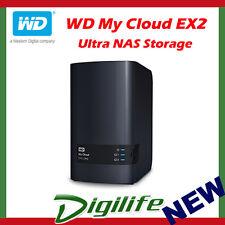 16tb (2x8tb) WD My Cloud Ex2 Ultra 2 Bay NAS Unit PN Wdbvbz0160jch-sesn