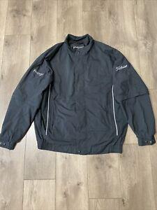 Dryjoys by Footjoy Men's Titleist Golf Full Zip Rain Jacket Size XL