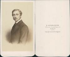 Prince de Galles CDV vintage albumen Tirage albuminé  6,5x10,5  Circa 1870