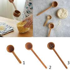 Premium Quality Natural Wood Ladle / Serving Spoon, Soup Scoop Spoons 2 Size