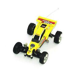 Remote Control Car Mini RC KART Racing BUGGY 1:52 - Yellow Color