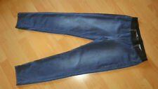 MARC CAIN leichte Damen Jeans Gr.N5 (42) blau elastischer Gummibund, Top!